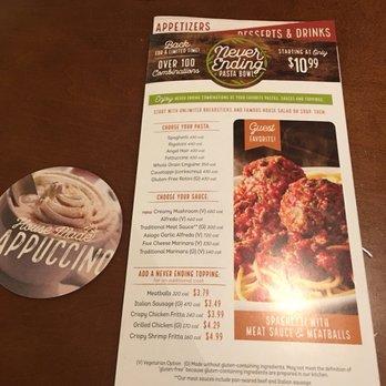 Olive Garden Italian Restaurant 175 Photos 318 Reviews Italian 460 E Hospitality Ln San
