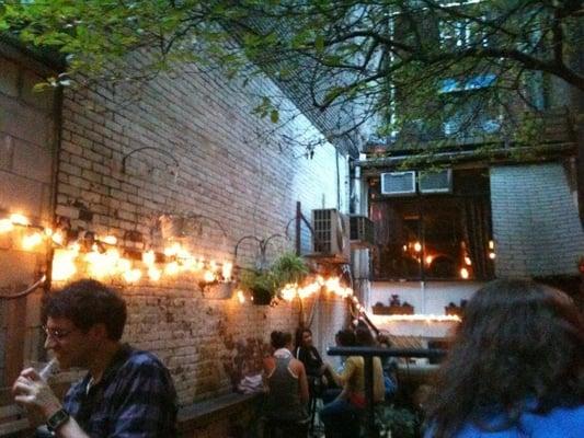Chill Backyard Beer Garden