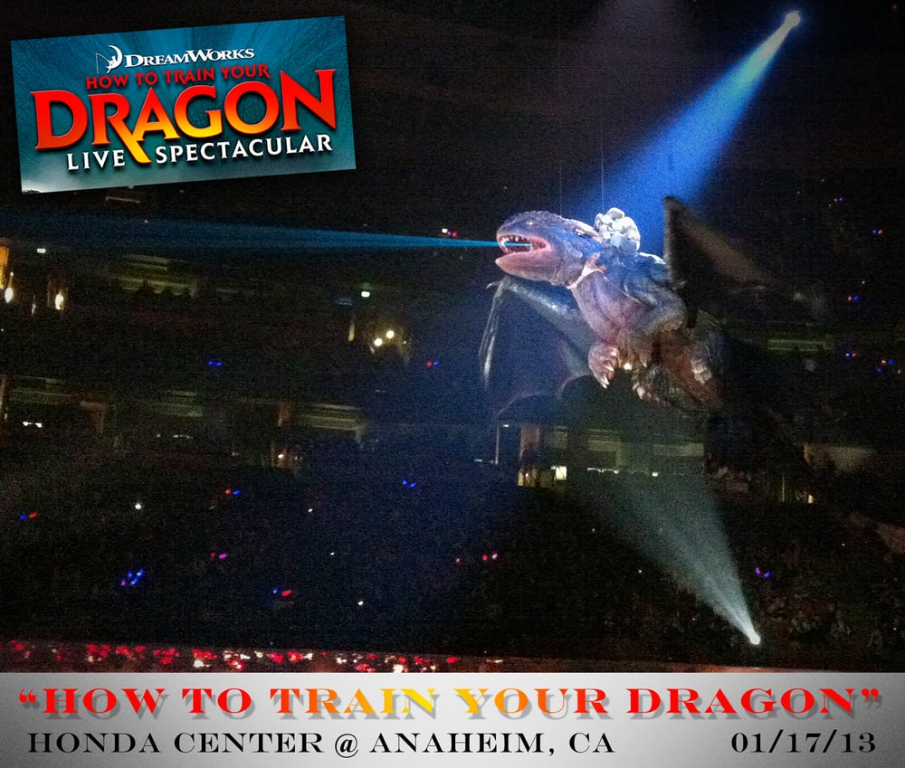 Hiccup toothless a night fury dragon face of wthe red death yelp photo of how to train your dragon live spectacular anaheim ca united states ccuart Choice Image