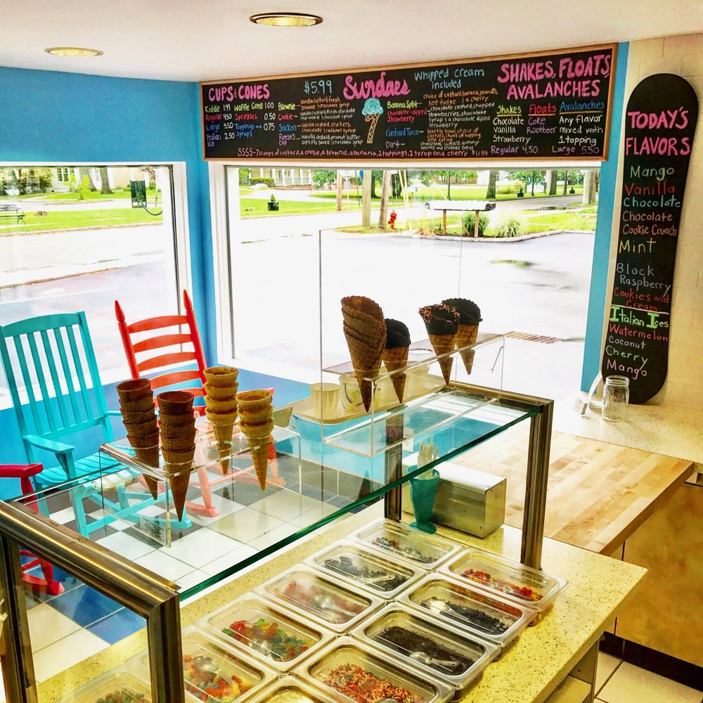 Seven Scoops Frozen Custard: 1143 E Main St, Shrub Oak, NY