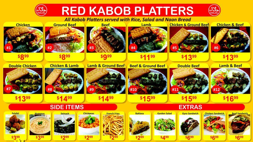 Red Kabob: 521A E Market St, Leesburg, VA