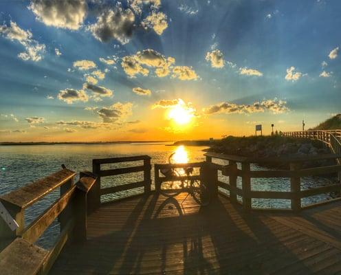 Jones beach bike path 12 recensioni parchi wantagh for Jones beach fishing pier