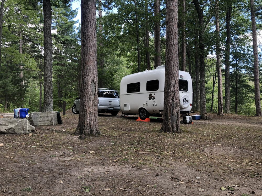 Ocqueoc Falls State Forest Campground: S Ocqueoc Rd, Millersburg, MI