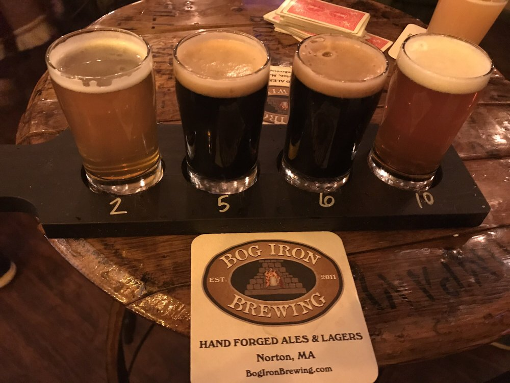 Bog Iron Brewing: 33 W Main St, Norton, MA