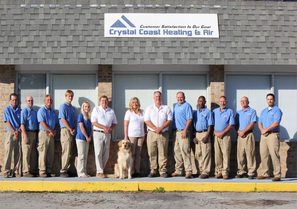 Crystal Coast Heating & Air: 1009 N 20th St, Morehead City, NC