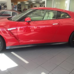 Good Photo Of Carolina Nissan   Burlington, NC, United States. Red Nissan