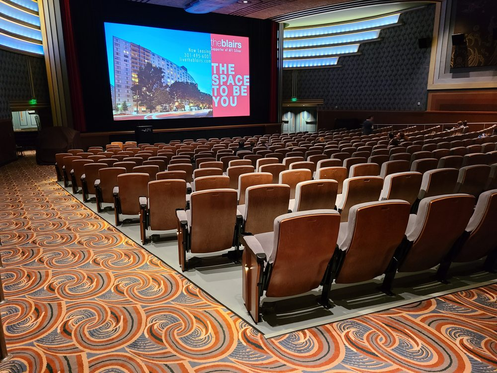 Social Spots from AFI Silver Theatre and Cultural Center