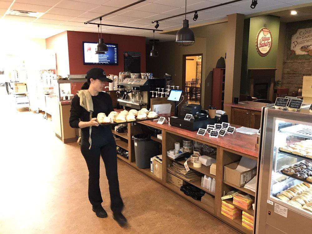 The Village Bakery: 101 N 3rd St, Oregon, IL
