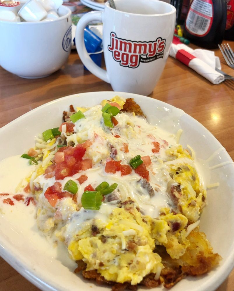 Food from Jimmy's Egg