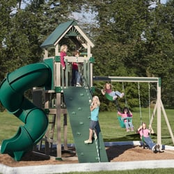 fences play set. photo of palmyra country store sheds u0026 fencing pa united states swing kingdom outdoor playset fences play set a