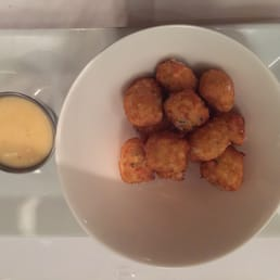 The Hudson House - Nyack, NY, United States. Crabmeat tater tots