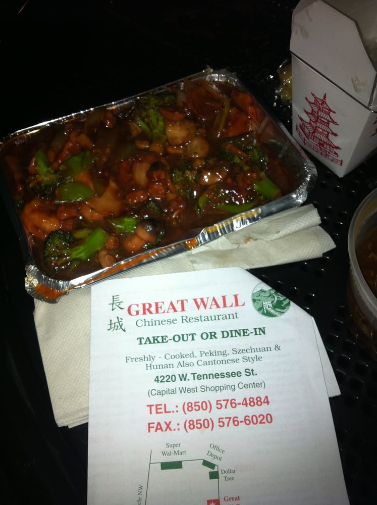 Great Wall Chinese Restaurant Tallahassee Fl