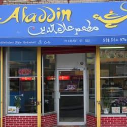 Aladdin Restaurant At  Pleasant St