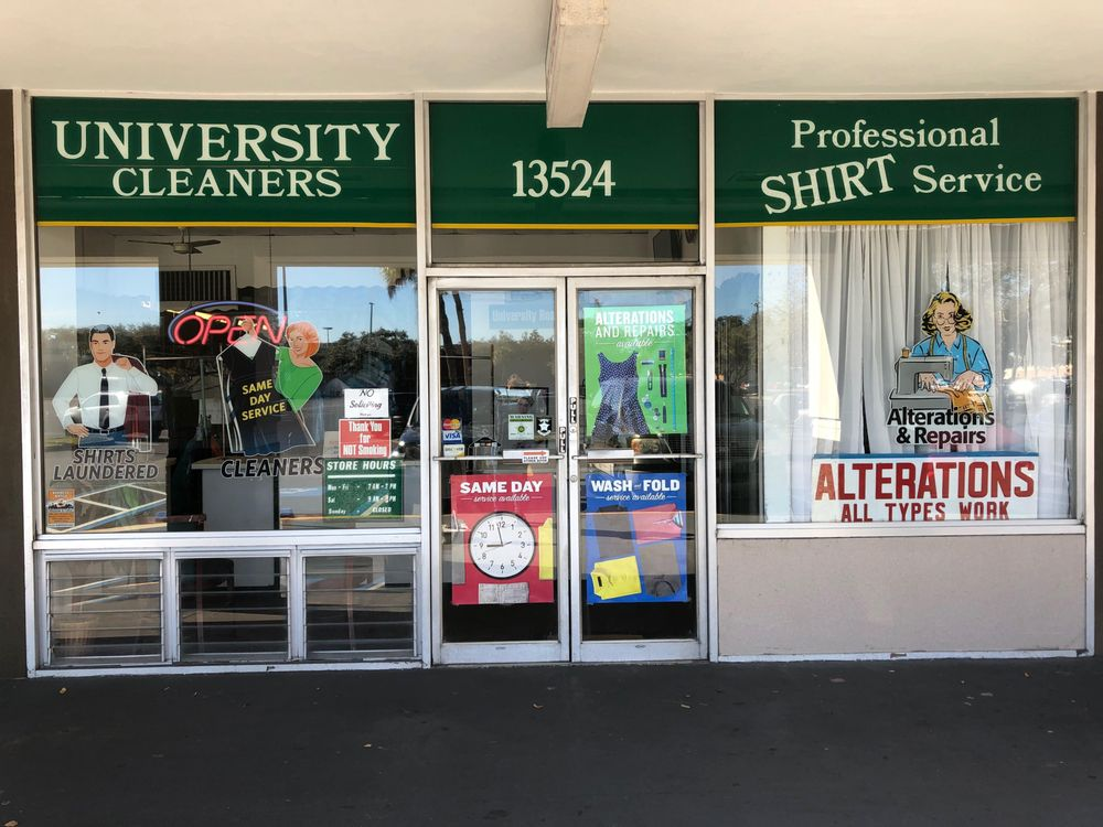 University Cleaners and Laundry: 13524 University Plaza St, Tampa, FL