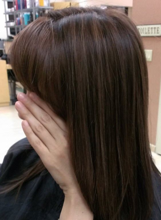 My Hair With Subtle Highlights Lowlights And A Gloss