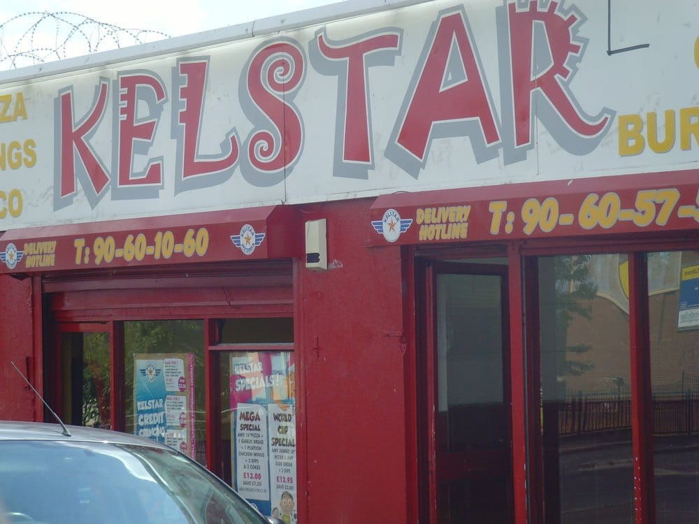 Kelstar hot food bar fast food 133a andersonstown road for J s food bar 01708