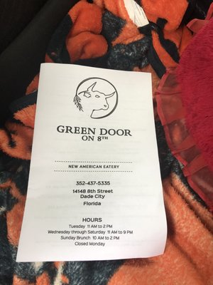 Green Door On 8th 14148 8th St Dade City Fl Mapquest