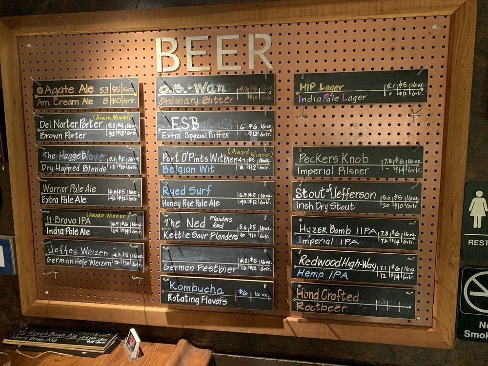 Port O'Pints Brewing: 1215 Northcrest Dr, Crescent City, CA