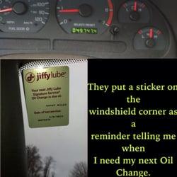 Photo of Jiffy Lube - Fairfax, VA, United States. Tells me when my