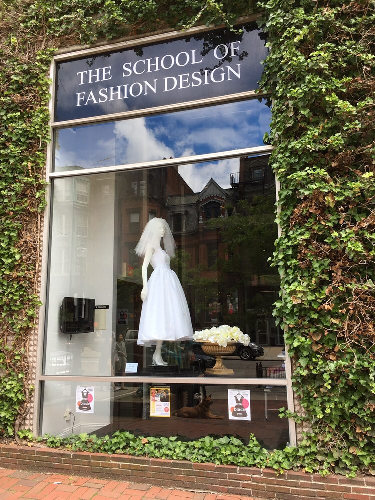 School Of Fashion Design Newbury Street Boston School Style