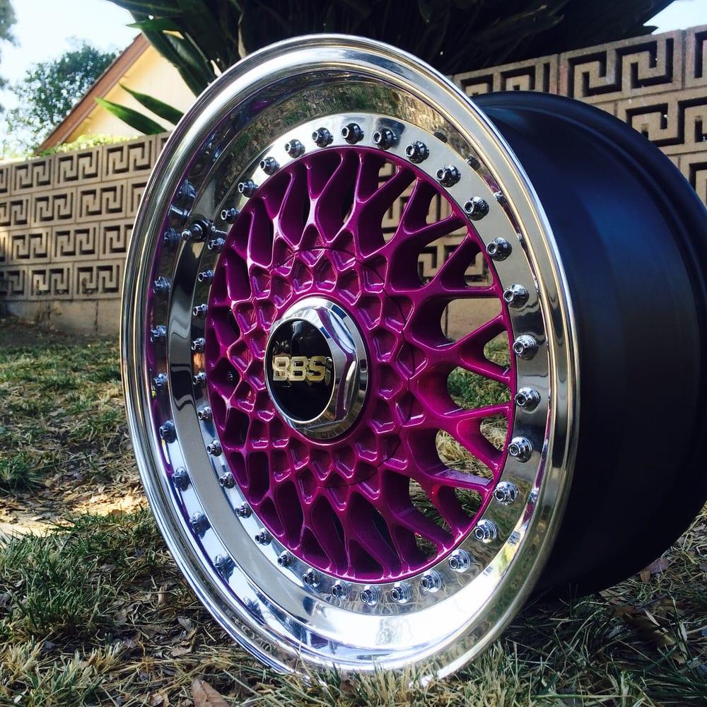 Bbs wheels powder coated - Yelp