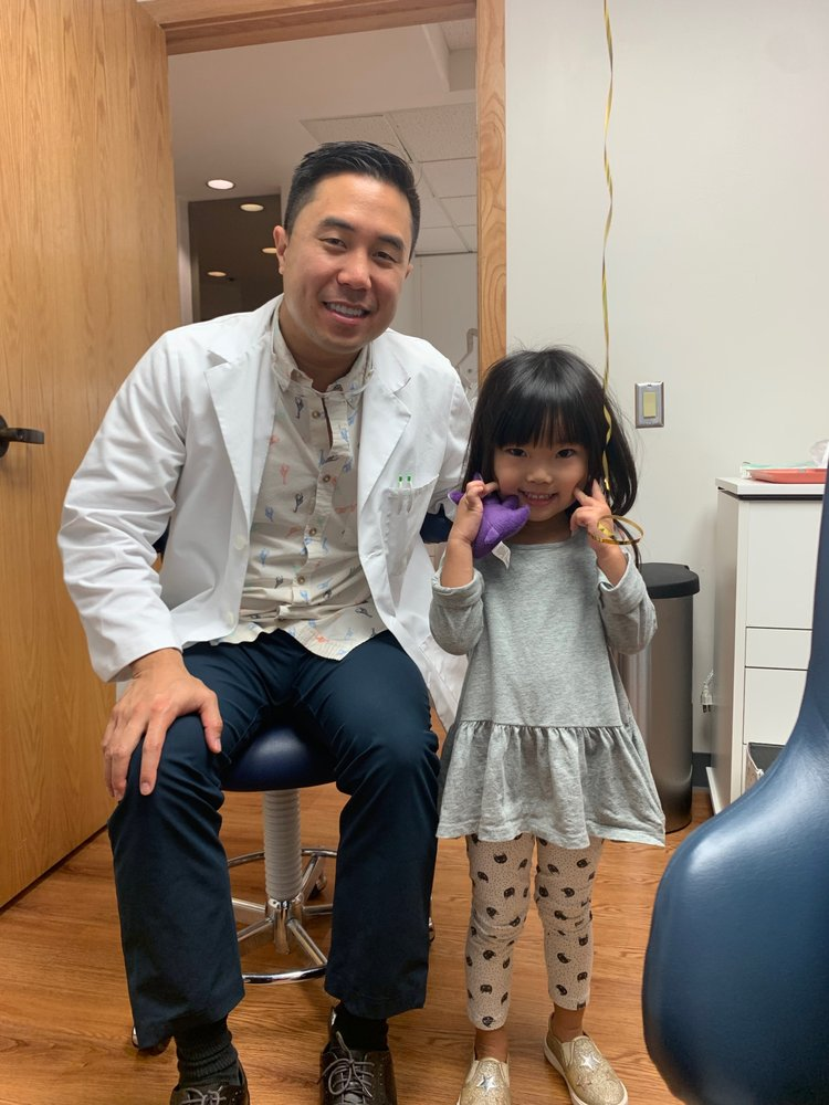 Daughter with Pediatric dentist Dr  Peter Lee - Yelp