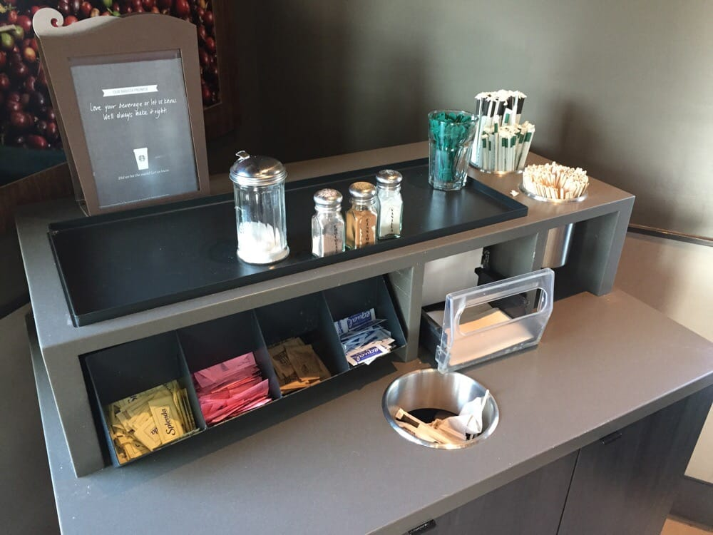 No Milk Whatsoever At The Condiment Bar Yelp