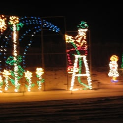 photo of clearbrooks winterland of lights arlington heights il united states