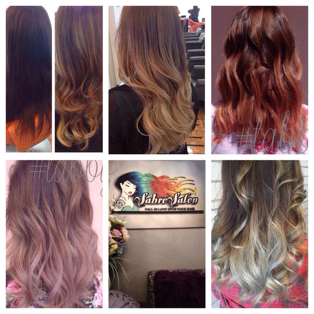 Box Dye Dark Brown To A Blonde Ombr 233 To Rose Gold To