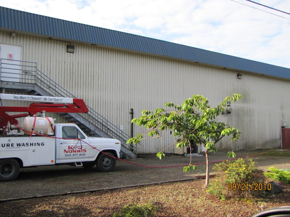 K & J Norris Pressure Washing: 9635 13th St, Bay City, OR