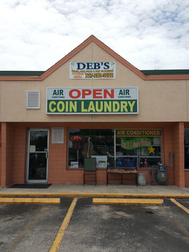 Deb's Laundry: 5000 Gulfport Blvd S, Gulfport, FL