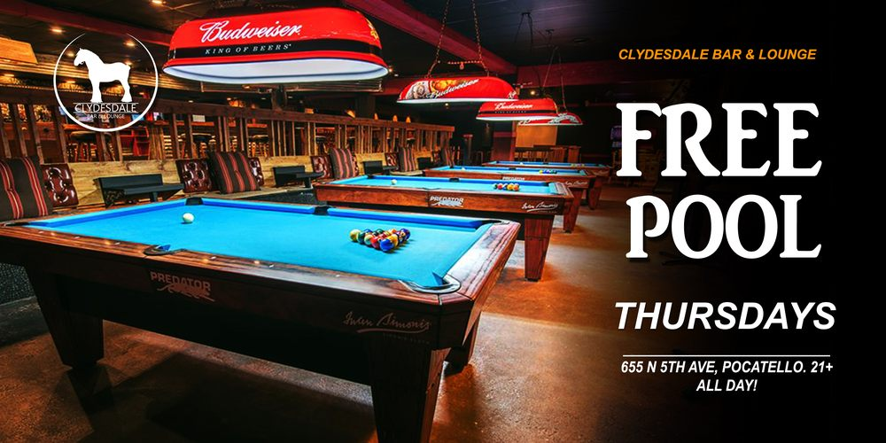 Clydesdale Bar & Lounge: 655 N 5th Ave, Pocatello, ID