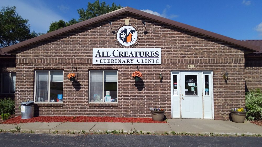 All Creatures Veterinary Clinic: 431 Guernsey Ln, Red Wing, MN