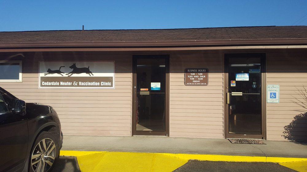 Cedardale Neuter & Vaccination Clinic | 1105 Dale Ln, Mount Vernon, WA, 98274 | +1 (360) 424-5676