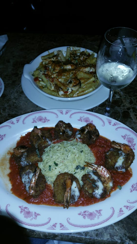 Rustic chicken and shrimp al forno and Shrimp parmesan - Yelp
