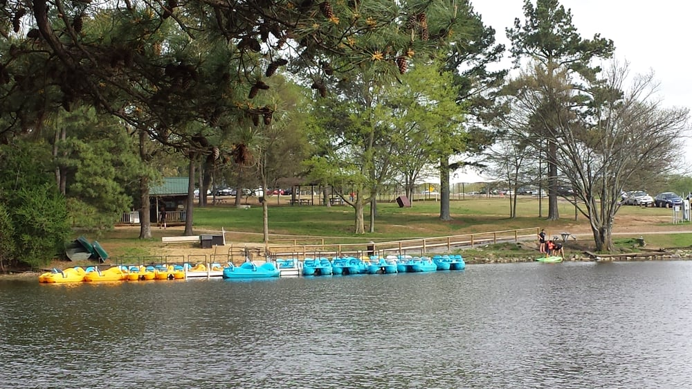 Shelby farms paddle boats