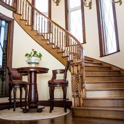 Elegant Photo Of New York Wood Stairs   Brooklyn, NY, United States. Long Island