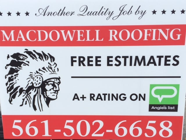 Macdowell Roofing West Palm Beach