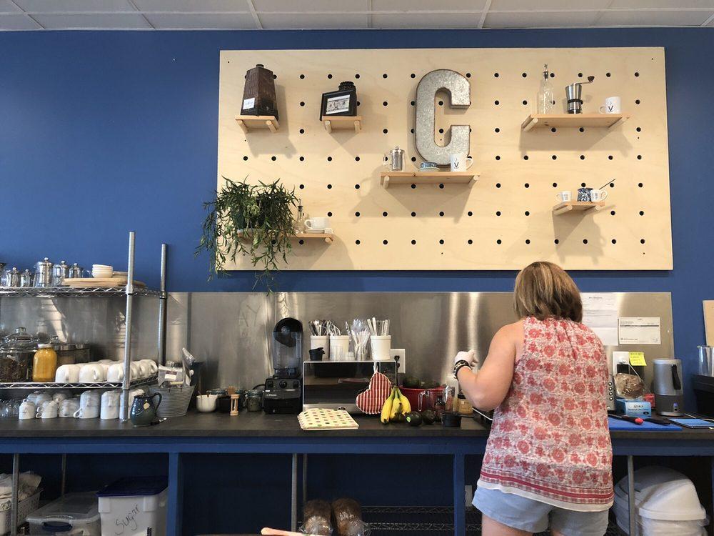 Converge Coffee Bar and Cafe: 3336 S Church St, Burlington, NC