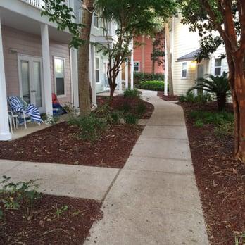 Photo Of Wyndham Beach Street Cottages Destin Fl United States Shaded Sidewalk