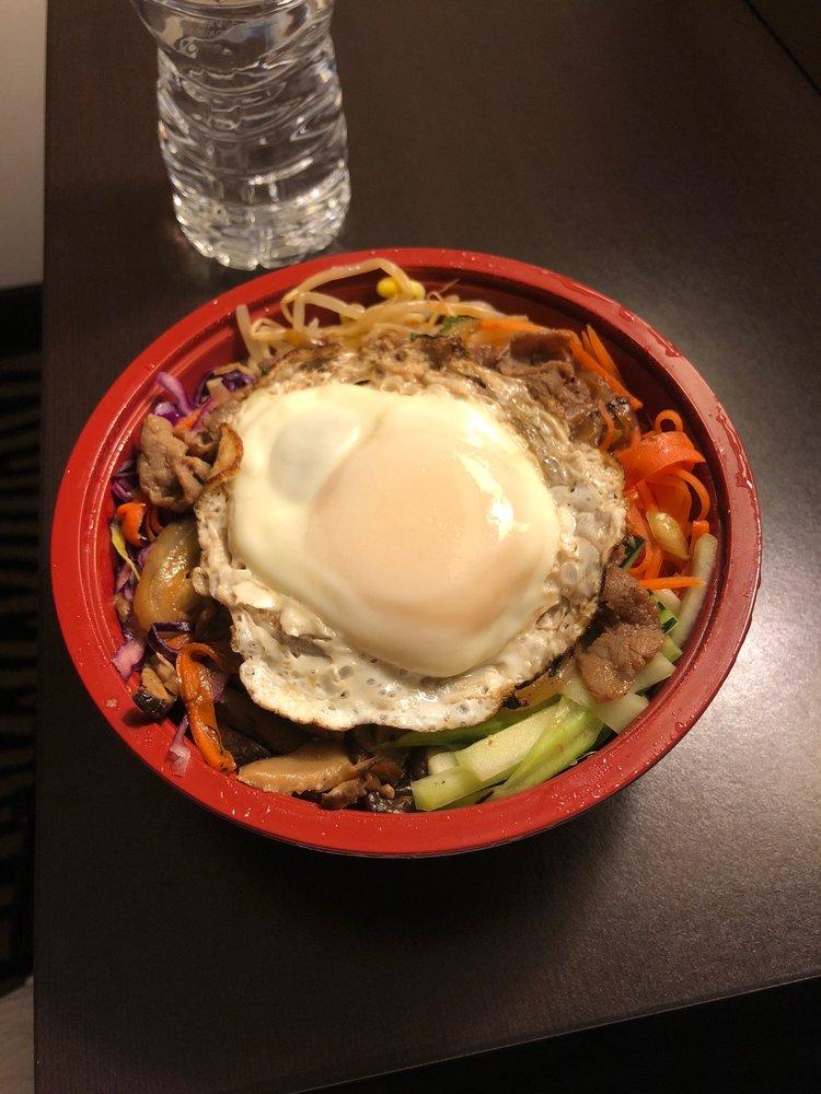 Food from Gogi Gui Korean Grill