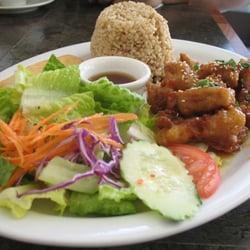 Photo Of Tantawan Vegan Restaurant Los Angeles Ca United States Orange En