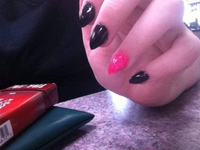 Photo Of Aesthetic Studio Columbia Mo United States Pink And Black Stiletto