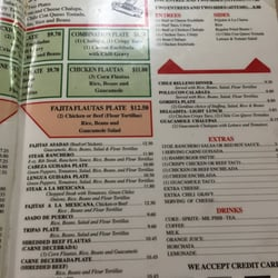 Photo Of El Patio Restaurant   Port Lavaca, TX, United States. Menu 2nd