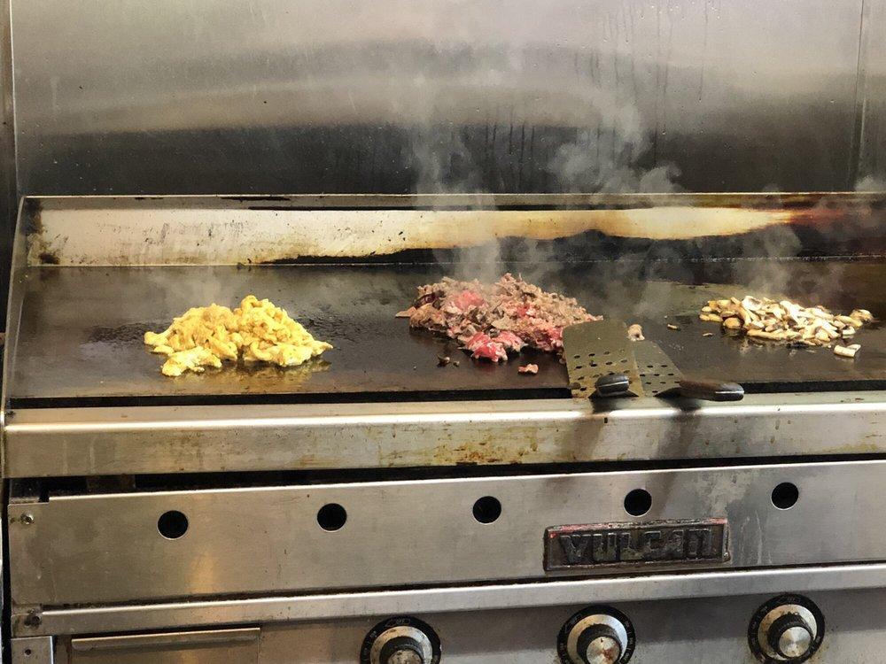 Food from Reem's Steaks
