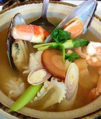 Seafood soup yelp for Ayara thai cuisine