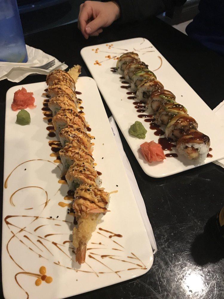 Food from Samurai Kitchen + Sushi