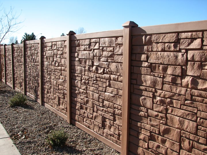 Faux Stone Fence Yelp