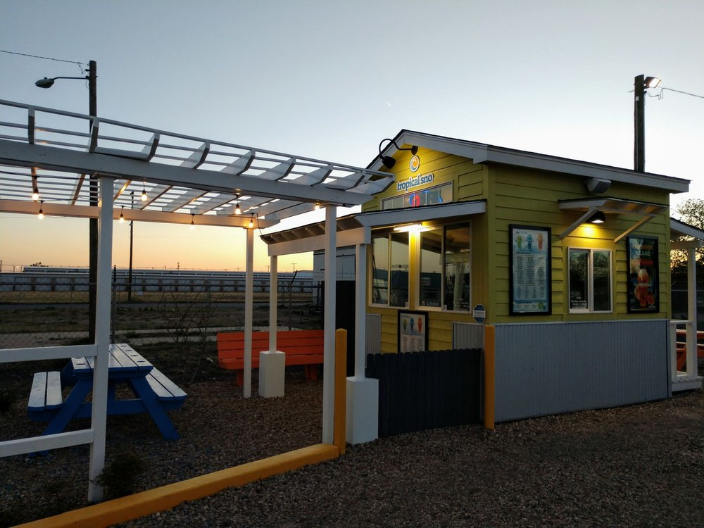 Tropical Sno: 115B E Railroad, Portales, NM
