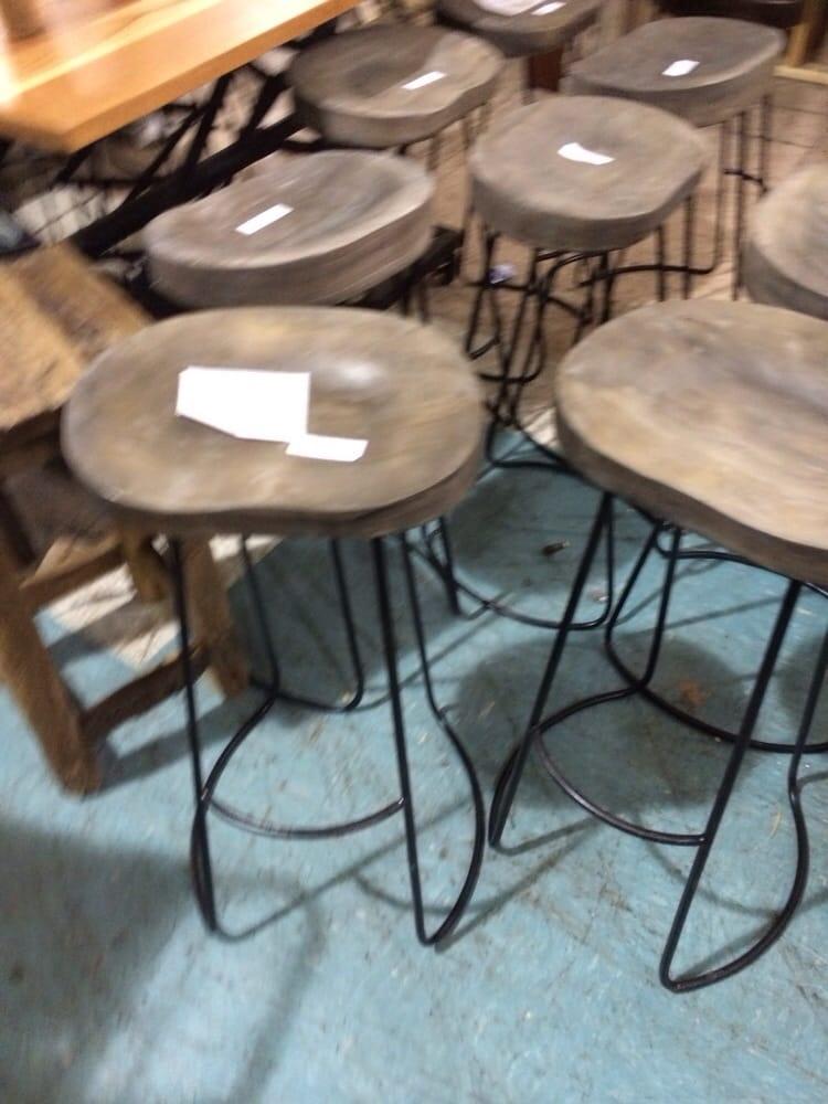 Wooden And Iron Stools Yelp